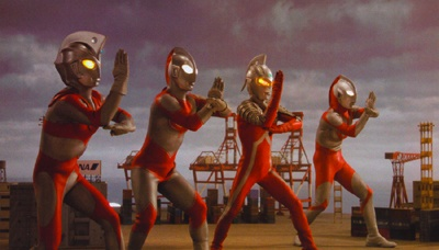 Ultraman Mebius and Ultraman Brothers